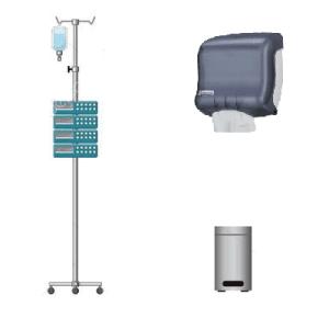 Complementos del mobiliario clínico