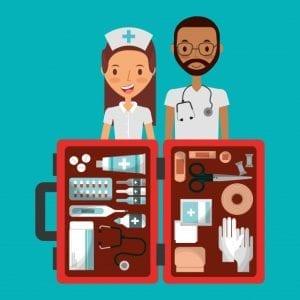 Emergencias, primeros auxilios, botiquines
