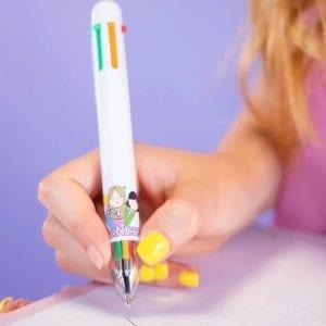 Bolígrafo 6 colores SUPERNURSES